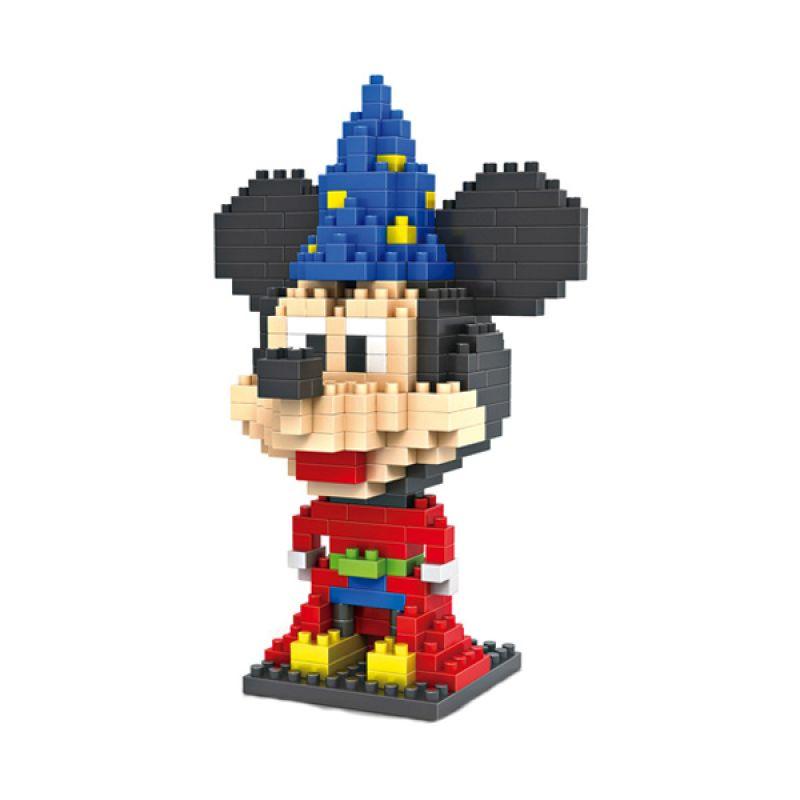 Loz Magician Mickey Mainan Block dan Puzzle