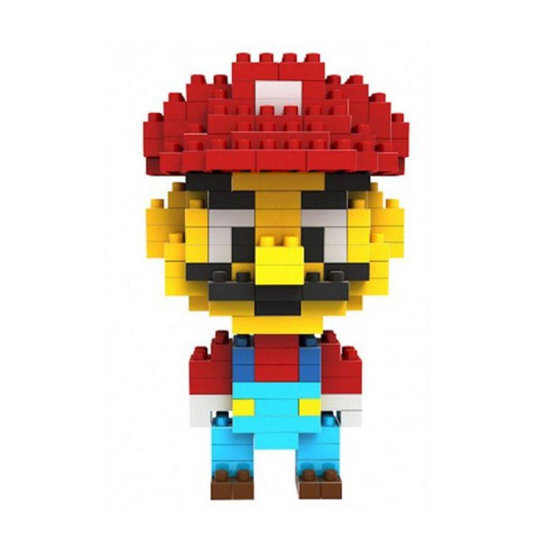 Loz Mario 9338 Diamond Mainan Block dan Puzzle [Medium]