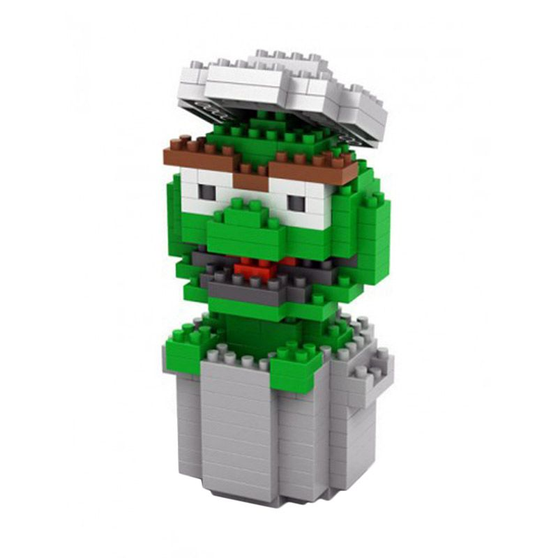 Loz Oscar Sesame Street 9121 Diamond Mainan dan Puzzle [Medium]