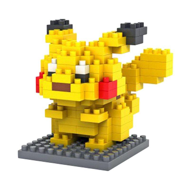 Loz Pikachu 9136 Diamond Mainan Blok dan Puzzle [Medium]
