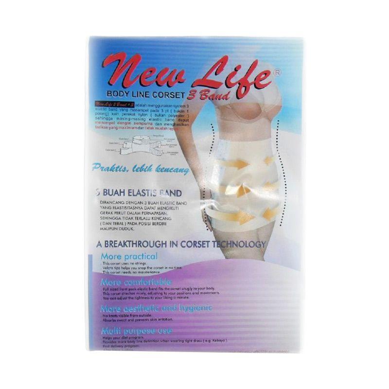 New Life Body Line Putih Gurita Korset Pasca Melahirkan