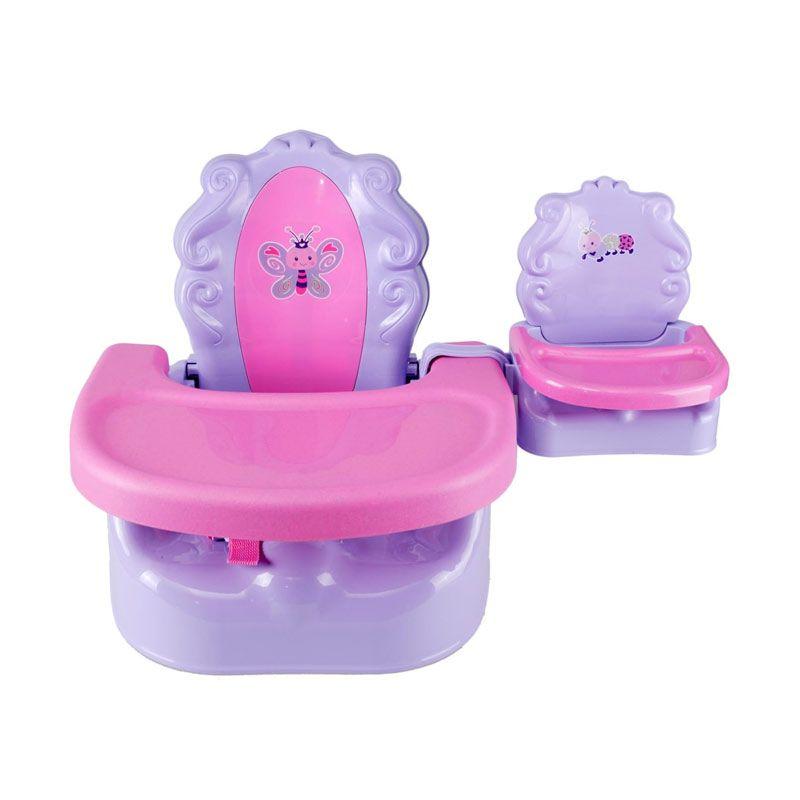 Summer Infant My Baby & Me Booster Seat Ungu pink Kursi Makan Bayi