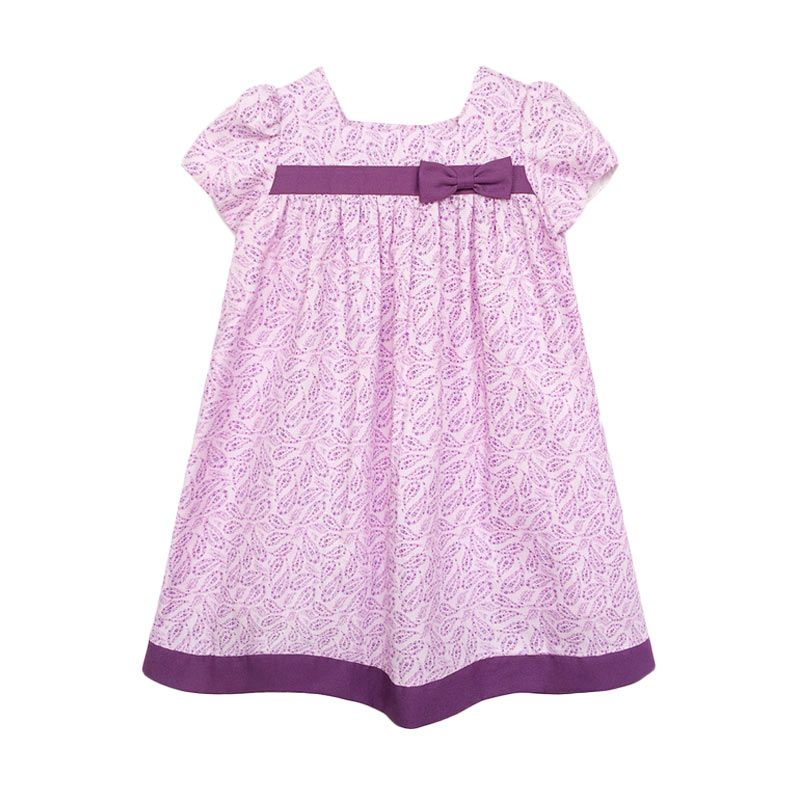 Cotton Pie Lila Summer Purple Dress Anak