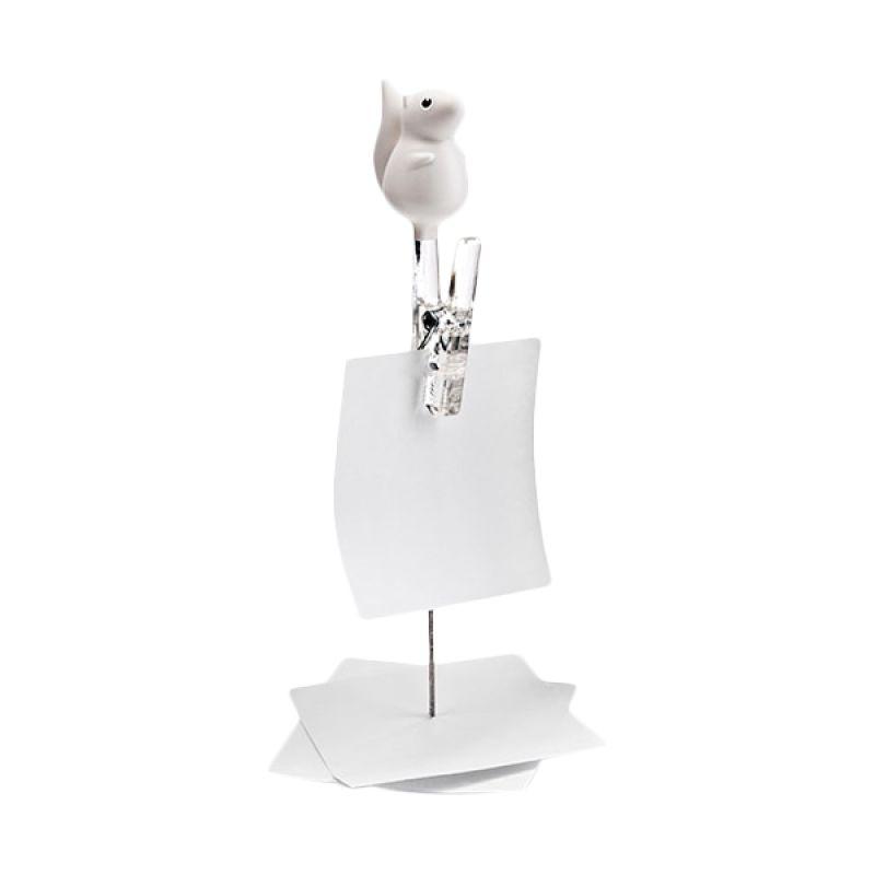 Cottonwood Q QL10089WH White Note Holder