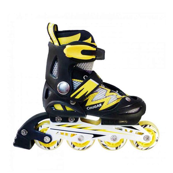 Cougar MZS835L Sepatu Roda - Black Yellow