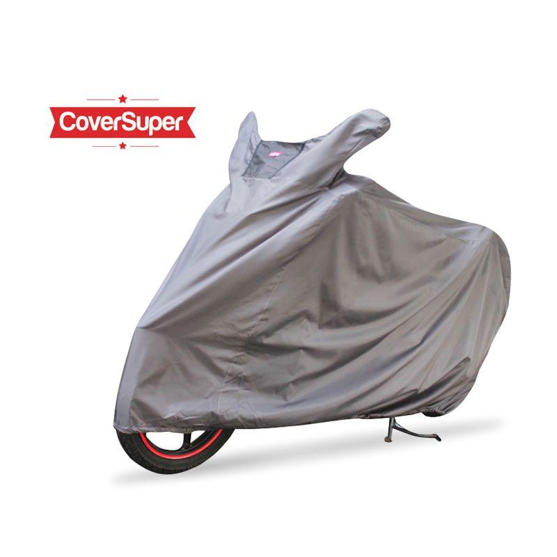 Cover Super Cover Motor Abu-Abu M