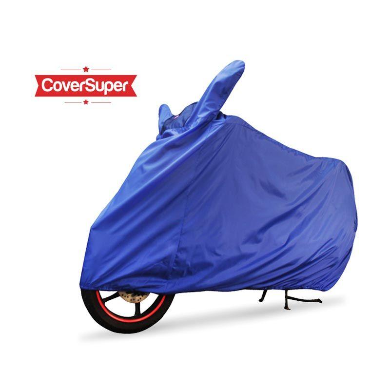 Cover Super Cover Motor Biru L