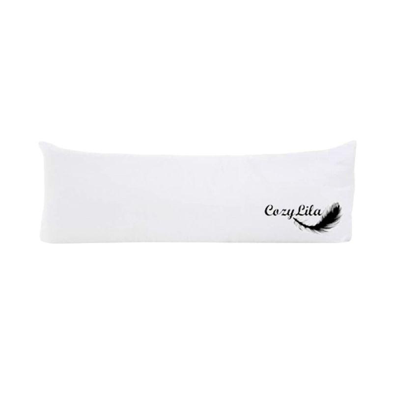 COZYLILA - Bantal Panjang Bulu Angsa Sintetis - CZY15CZ0003W - PUTIH
