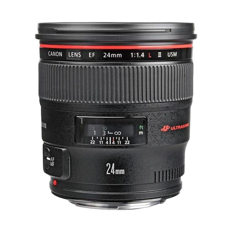 Canon EF 24mm f/1.4L II USM Lensa Kamera