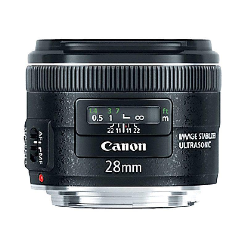 Canon EF 28mm f/2.8 IS USM Lensa Kamera