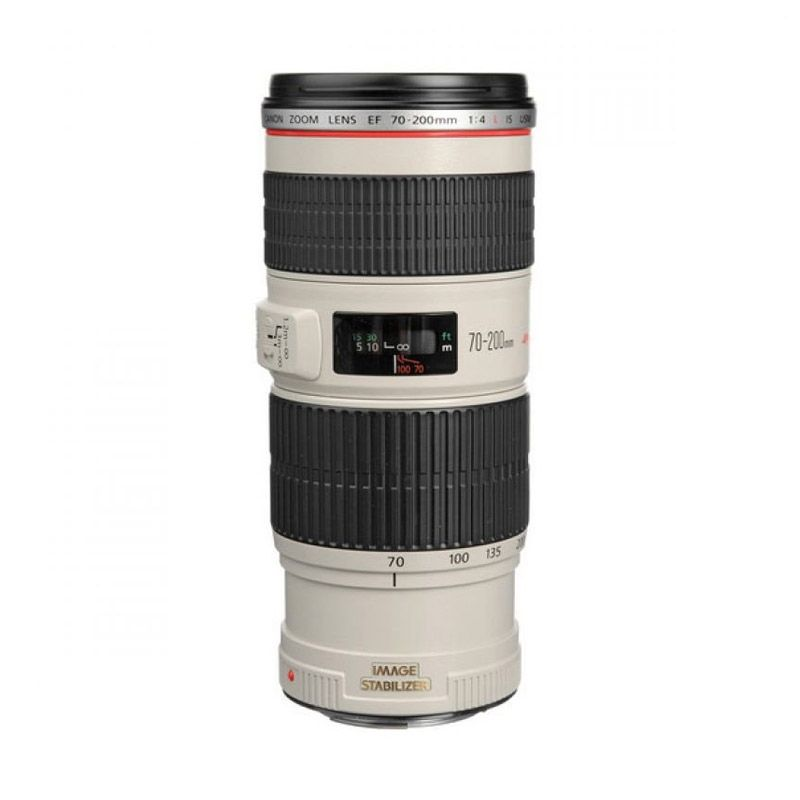 Canon EF 70-200 mm F/2.8L USM Hitam Putih Lensa Kamera