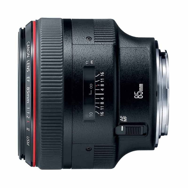 Canon EF 85mm f/1.2L Mark II USM Lensa Kamera