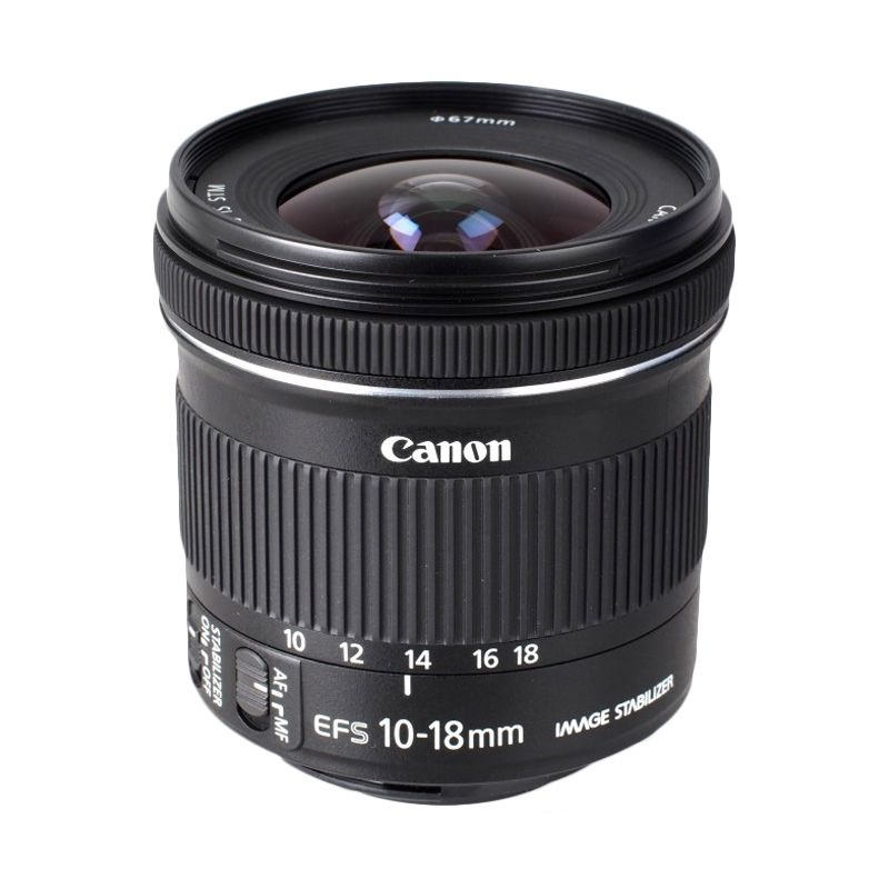 Canon EF-S 10-18mm f/4.5-5.6 IS STM Lensa Kamera