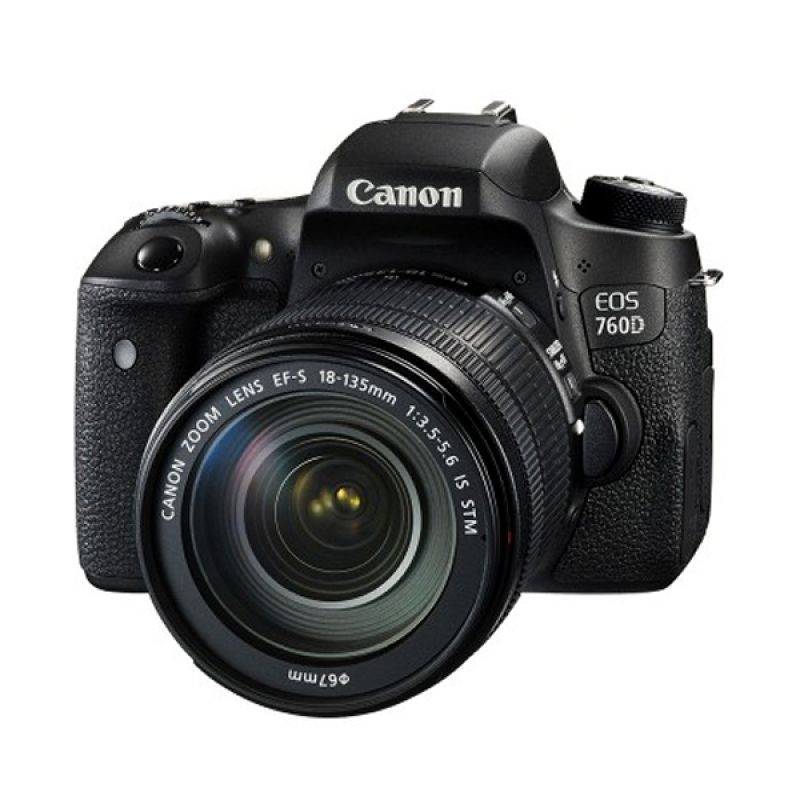 Canon EOS 760D Kit IS STM Kamera DSLR [ 18-135mm/Wifi]