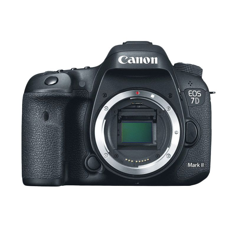 Canon EOS 7D Mark II Body Only Hitam Kamera DSLR