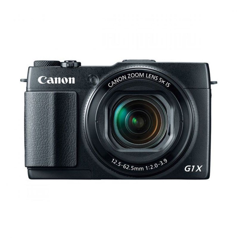Canon PowerShot G1X Mark II Hitam Kamera Pocket + Memory Card [16 GB]