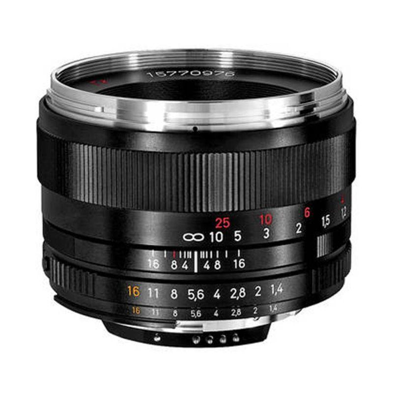 Carl Zeiss 50mm f/1.4 ZF.2 Planar T* Hitam Lensa Kamera