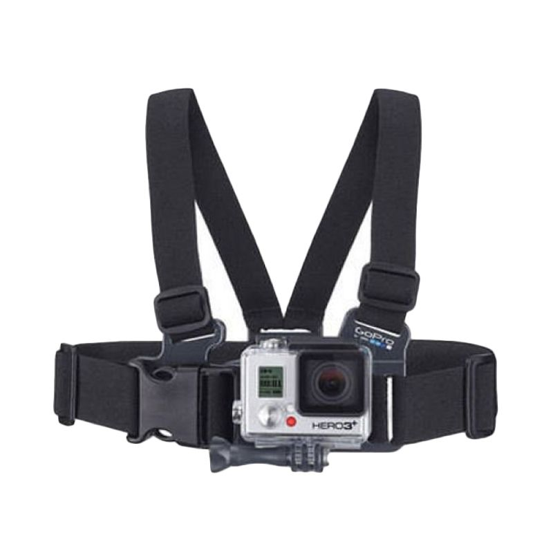 Gopro Junior Chesty Hitam Strap