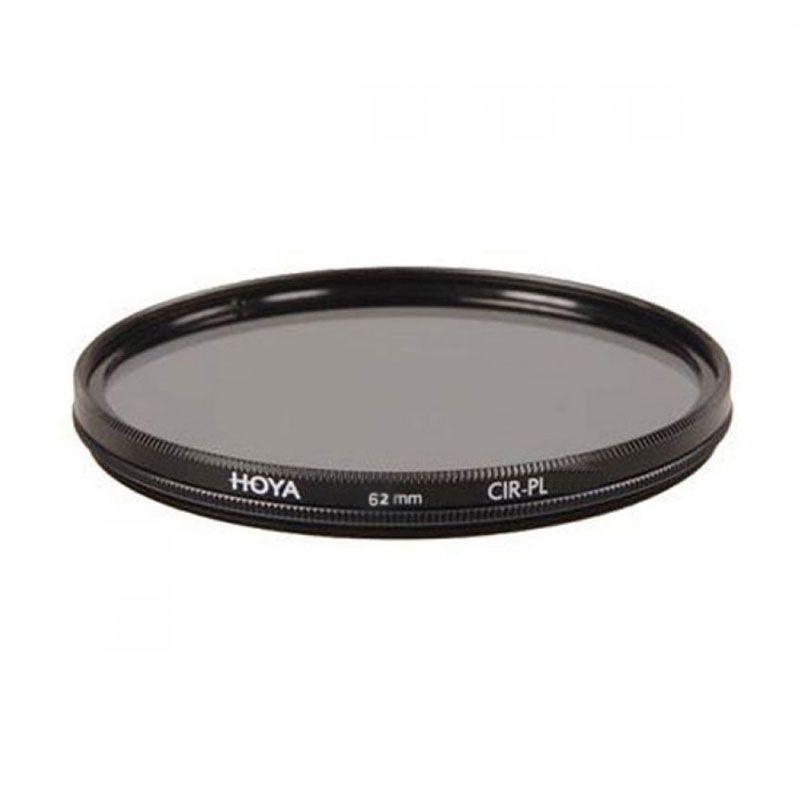 Hoya CIR-PL Digital Slim 62mm Hitam Filter Lensa