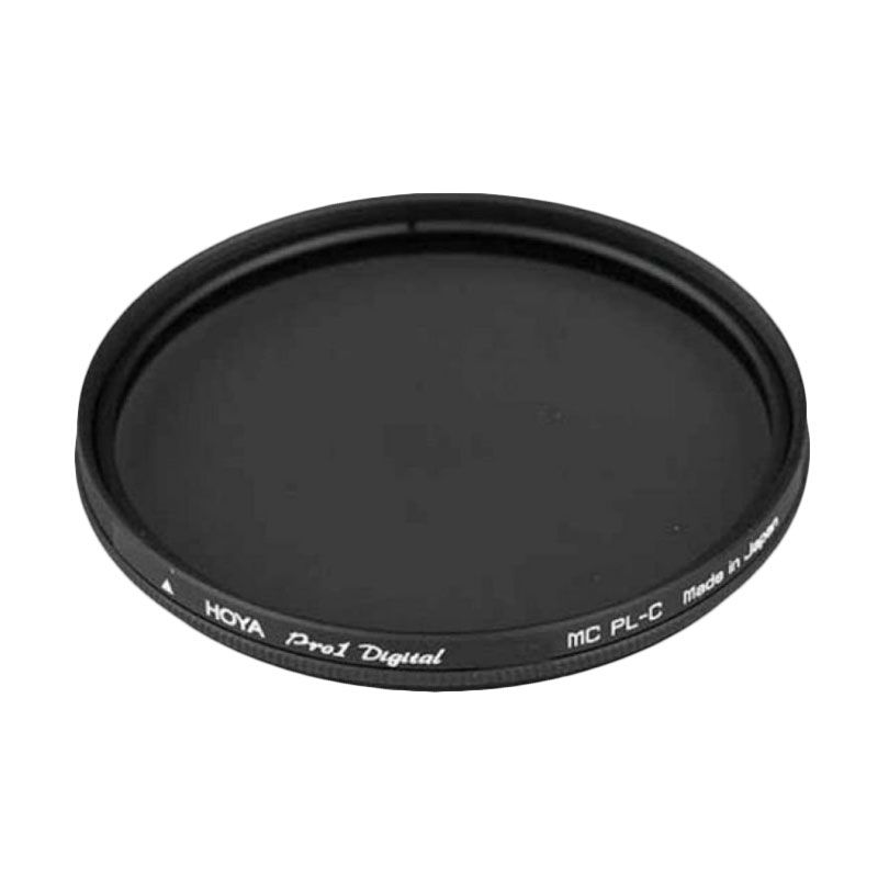 Hoya Pro1 MC PL-C Digital 62mm Hitam Filter Lensa
