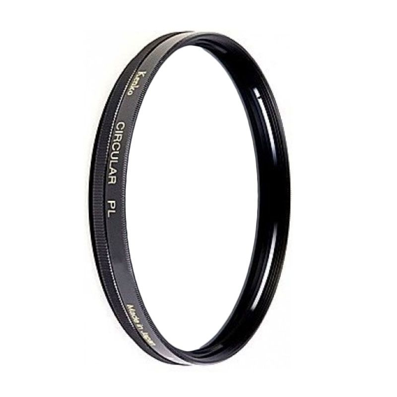 Kenko Filter High Quality Circular PL 52mm Hitam Filter Lensa