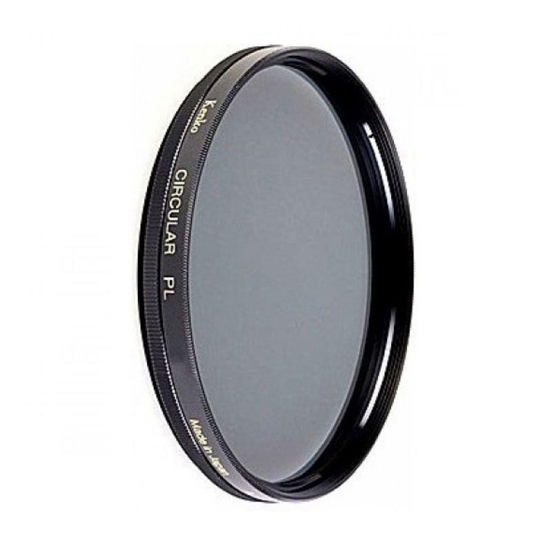 Kenko High Quality Circular PL 58mm Hitam Filter Lensa