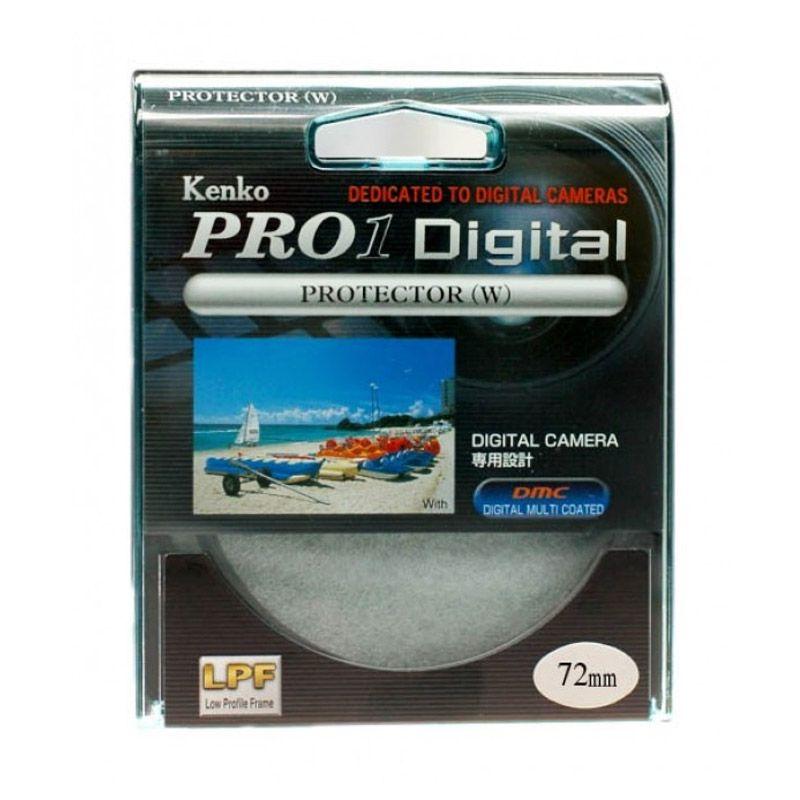 Kenko Pro 1 Digital Protector W 72mm Filter Lensa