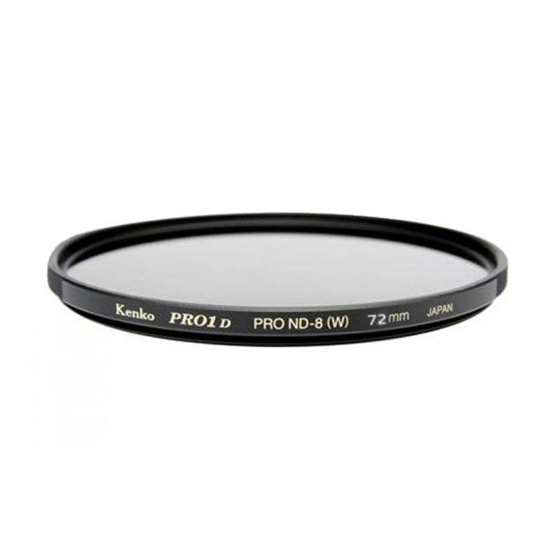 Kenko PRO1 Digital ND8 72mm Hitam Filter Lensa