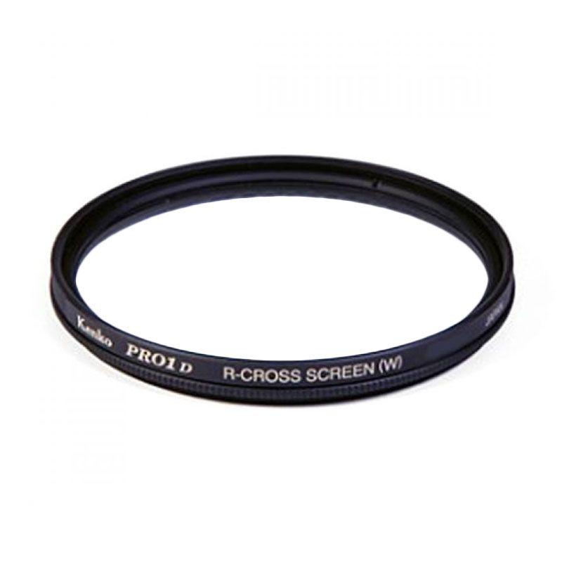 Kenko PRO1 Digital R-Cross Screen 72mm Hitam Filter Lensa