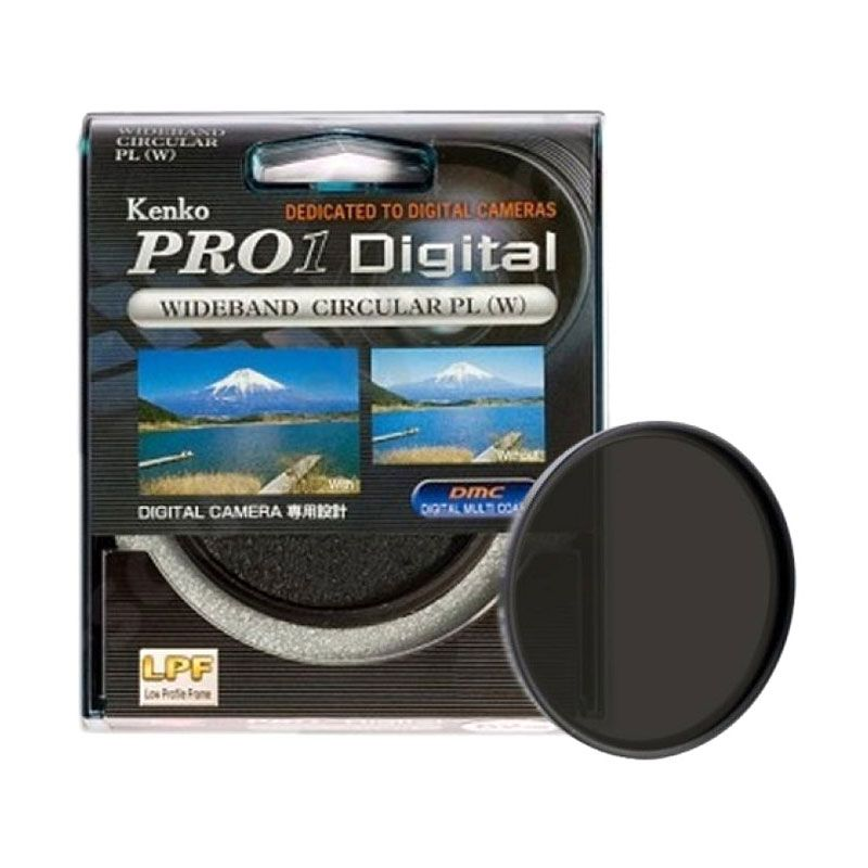 Kenko PRO1 Digital Wideband C-PL (W) 58mm Filter Lensa