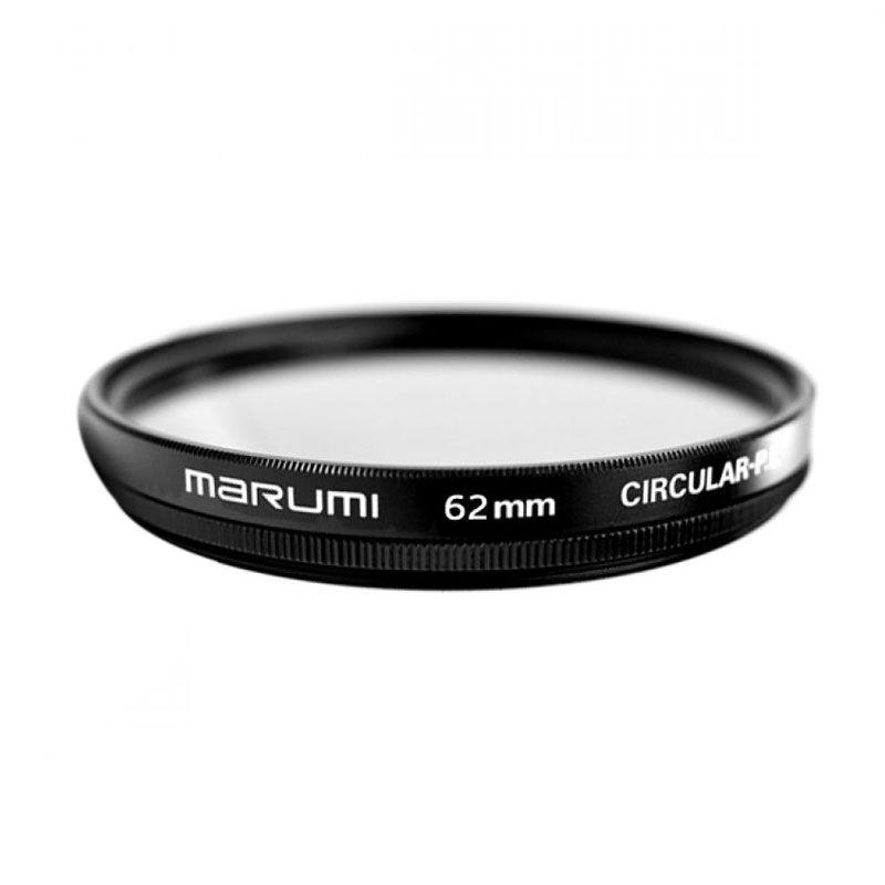 Marumi CPL 62mm Hitam Filter Lensa