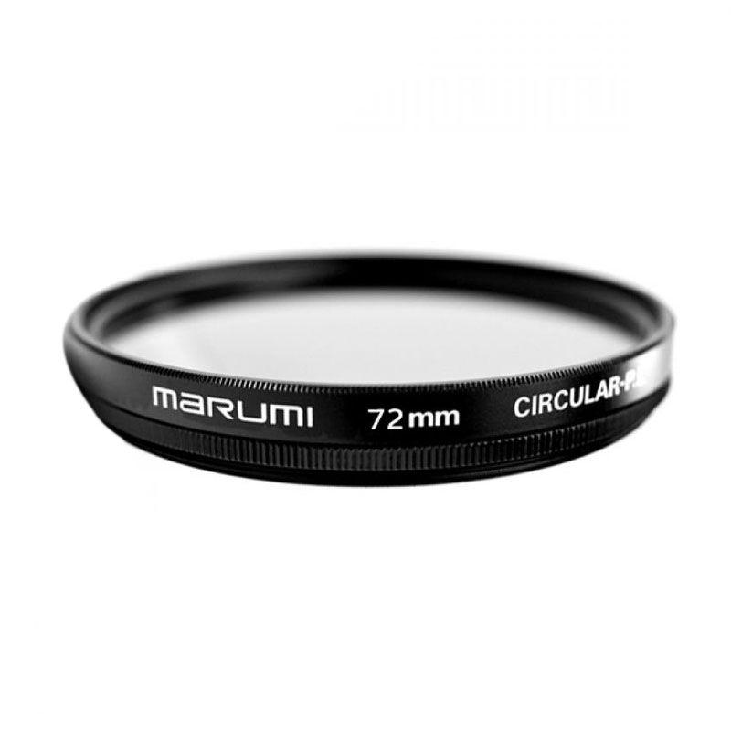 Marumi CPL 72mm Hitam Filter Lensa
