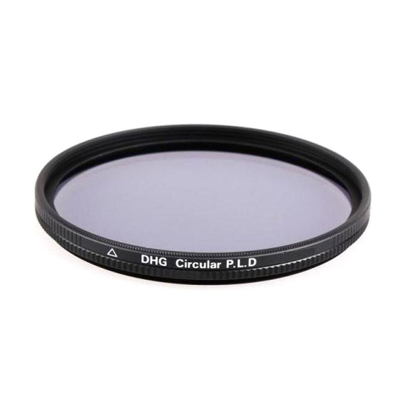 Marumi DHG Circular PL D 58mm Hitam Filter Lensa