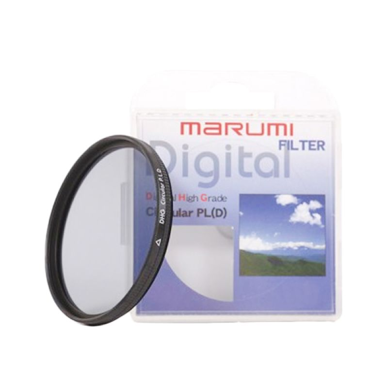 Marumi DHG Circular PL D 62mm Filter Lensa