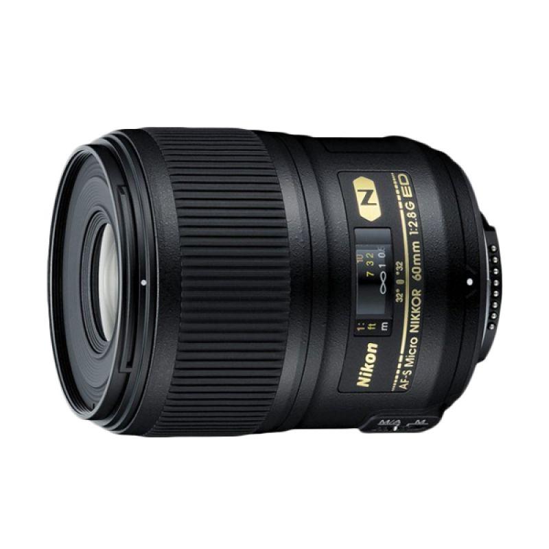 Nikon AF-S 60mm f/2.8G ED Micro Lensa Kamera