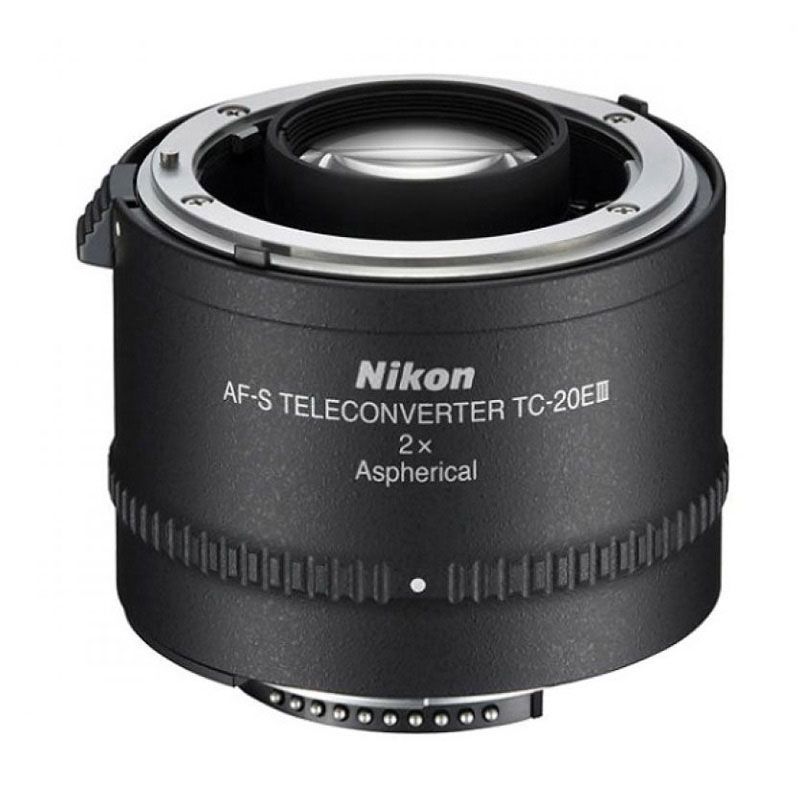 Nikon AF-S Teleconverter TC-20E III Hitam Lensa Kamera