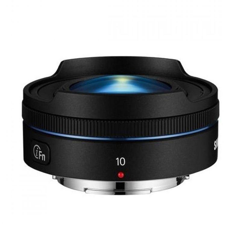 Samsung 10mm f/3.5 Hitam Lensa Fisheye