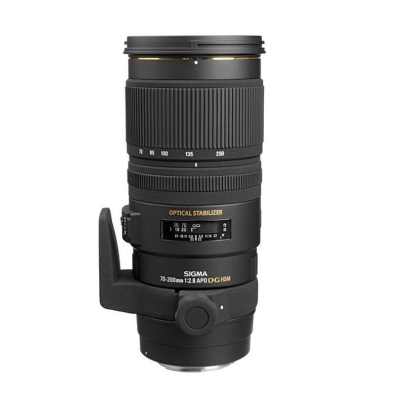 Sigma APO 70-200mm F/2.8 EX DG OS HSM Black Lens For Canon
