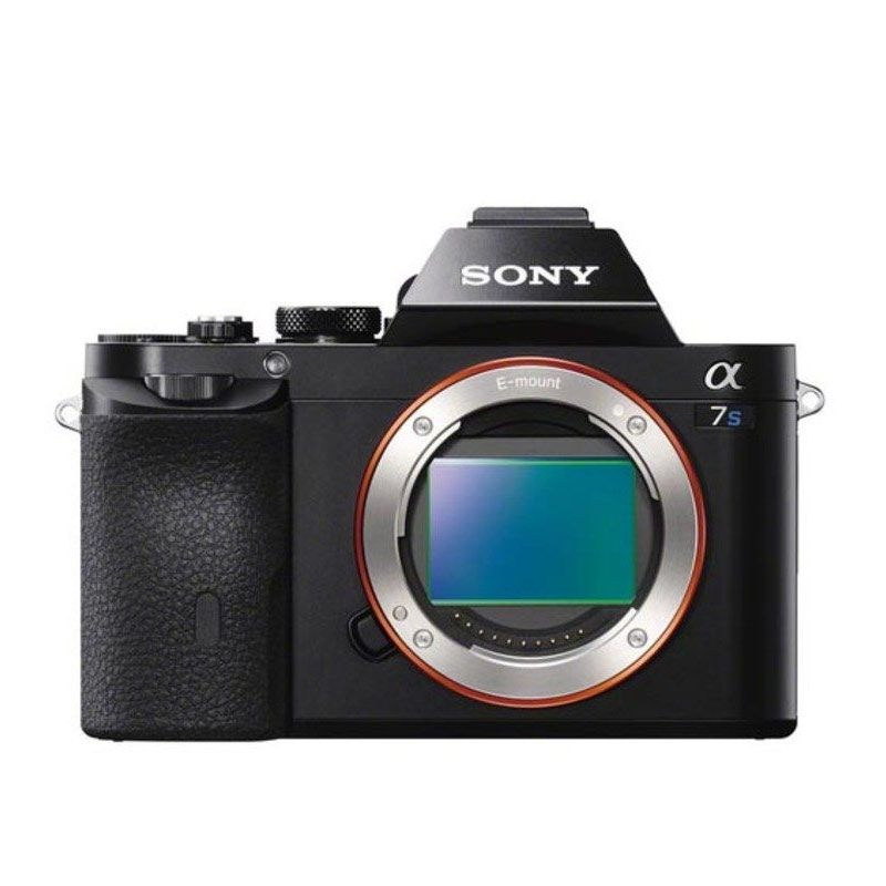 Sony Alpha A7S Body Hitam Kamera Mirrorless