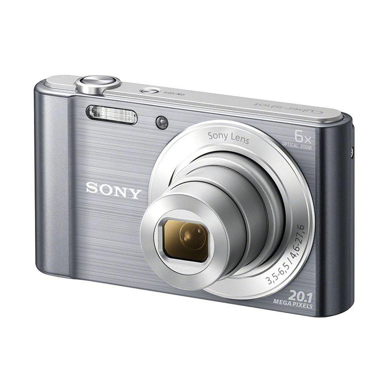 Sony CyberShot W810 Silver Kamera Pocket