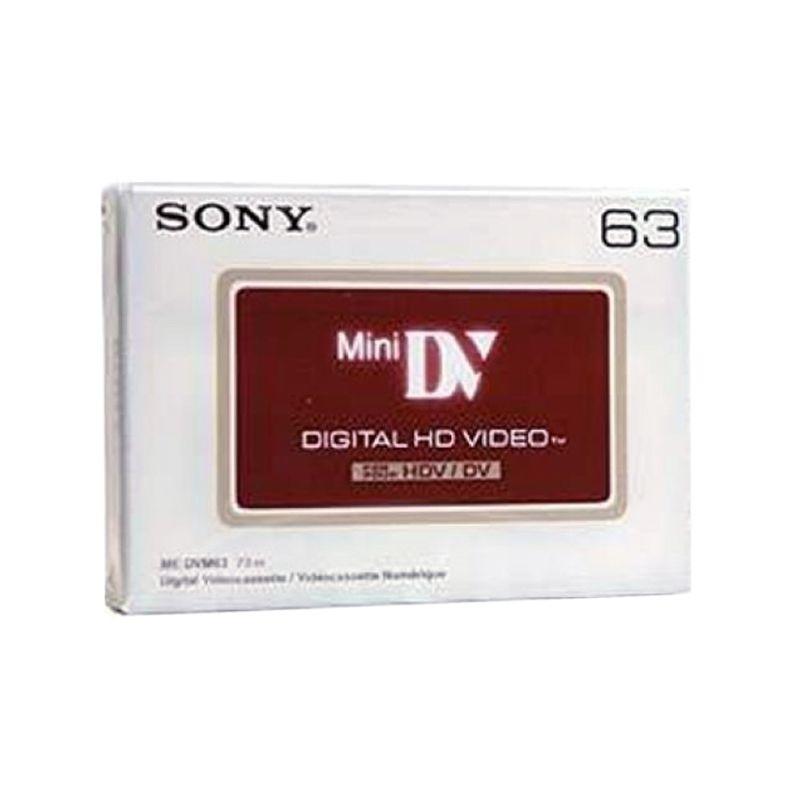 Sony DVM-63HD HDV Mini DV Putih Kaset [63 min]