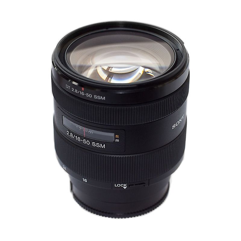 Sony Lens 16-50mm f2.8 White Box Lensa Kamera