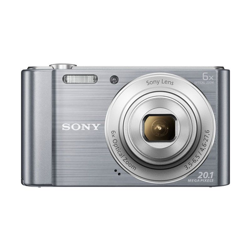 Sony W810 Cyber Shot Silver Kamera Pocket
