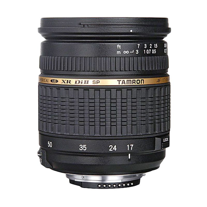 Tamron SP AF 17-50mm F/2.8 XR Di II LD Aspherical IF Hitam Lensa Kamera for Nikon