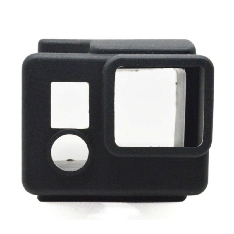 Third Party Hitam Silicone Casing For GoPro GP98