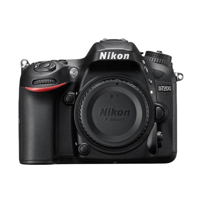 Nikon D7200 Kamera DSLR [Body Only] +Asesories NIkon 10 in 1 + Screenguard Terpasang