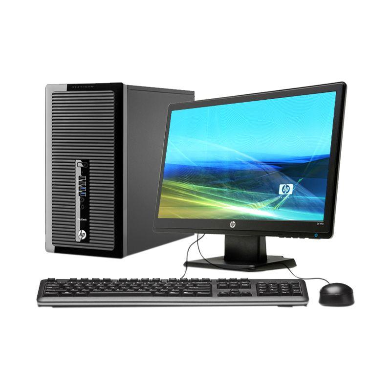 HP Pro Desk 400 G1 MT Black Desktop PC [2 GB/500 GB/20