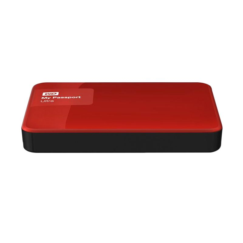 Western Digital My Passport Ultra New WDBBKD0020BBY-PESN Red Harddisk Eksternal [2 TB]