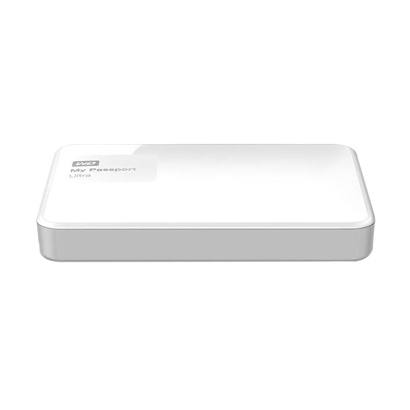 Western Digital My Passport Ultra New WDBBKD0020BWT-PESN White Harddisk Eksternal [2 TB]