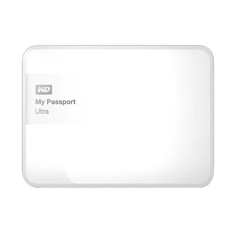 Western Digital My Passport Ultra New WDBGPU0010BWT-PESN White Harddisk Eksternal [1 TB]